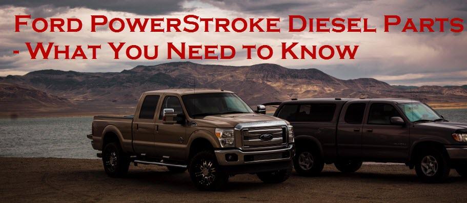Ford PowerStroke Diesel Parts