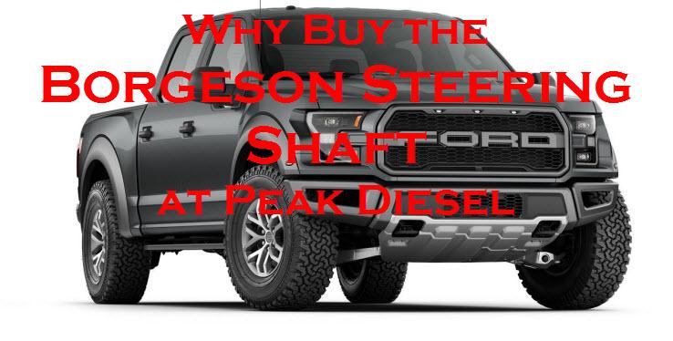 Borgeson Steering Shaft at Peak Diesel Performance