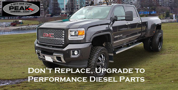 Don't Replace, Upgrade to Performance Diesel Parts