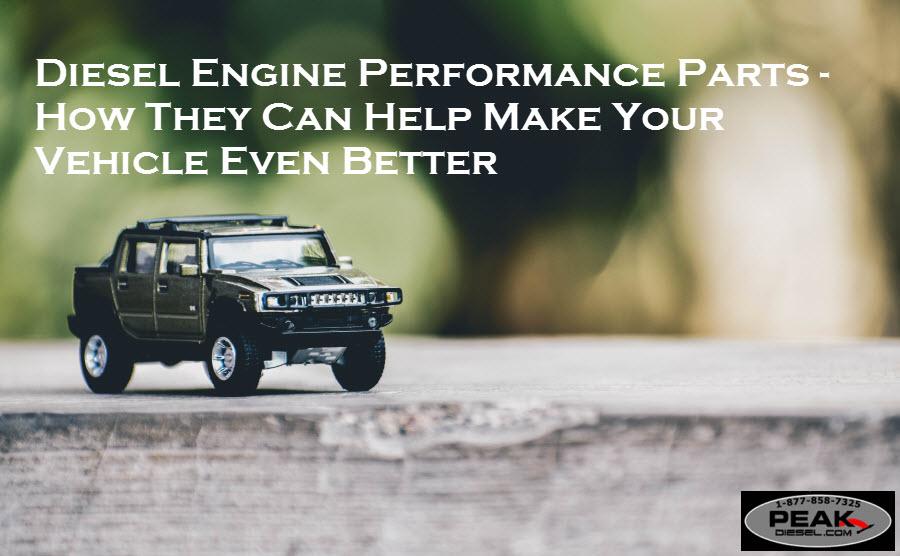Diesel Engine Performance Parts