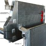 PPE 115041000 - 2006-2010 Duramax LLY/LBZ/LMM High-Flow Performance Intercooler w/o Reinforced Pins