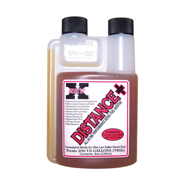 Rev-X DISP_0800 - Universal Distance + Performance Fuel Additive