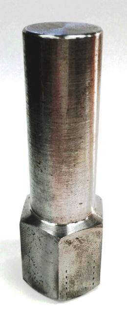 Solid Steel Stub Shaft Nut - 1994-2012 Dodge