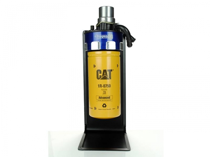 sinister diesel cat fuel filter adapter for 2001 2016 gm duramax 6 6l sd cat dmax  duramax fuel filter for cat #15